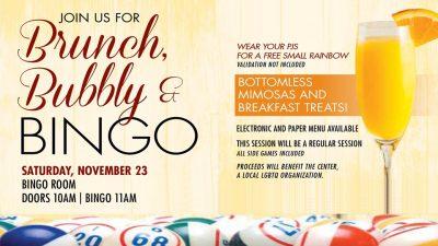 Brunch, Bubbly, & Bingo