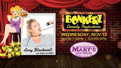 Amy Blackwell at Bonkerz Comedy in Hamburger Marys