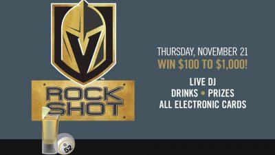 Rock Shot Bingo: VGK edition