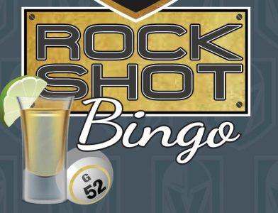 Vegas Golden Knights Rock Shot Bingo