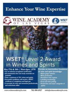 WSET Level 2 Award in Wine & Spirits