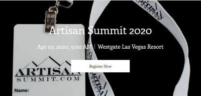 Artisan Summit 2020