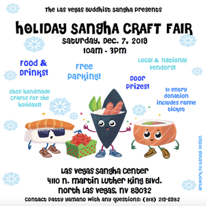 Holiday Sangha Craft Fair