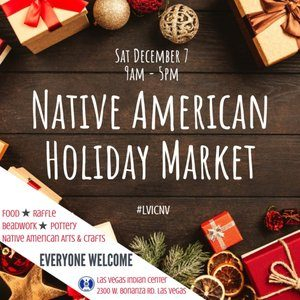 Native American Holiday Market