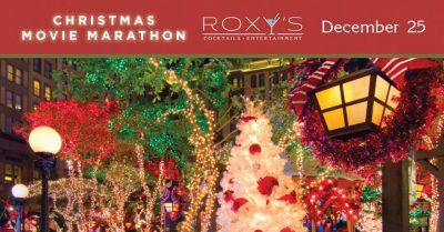 Christmas Movie Marathon at Roxy's Lounge