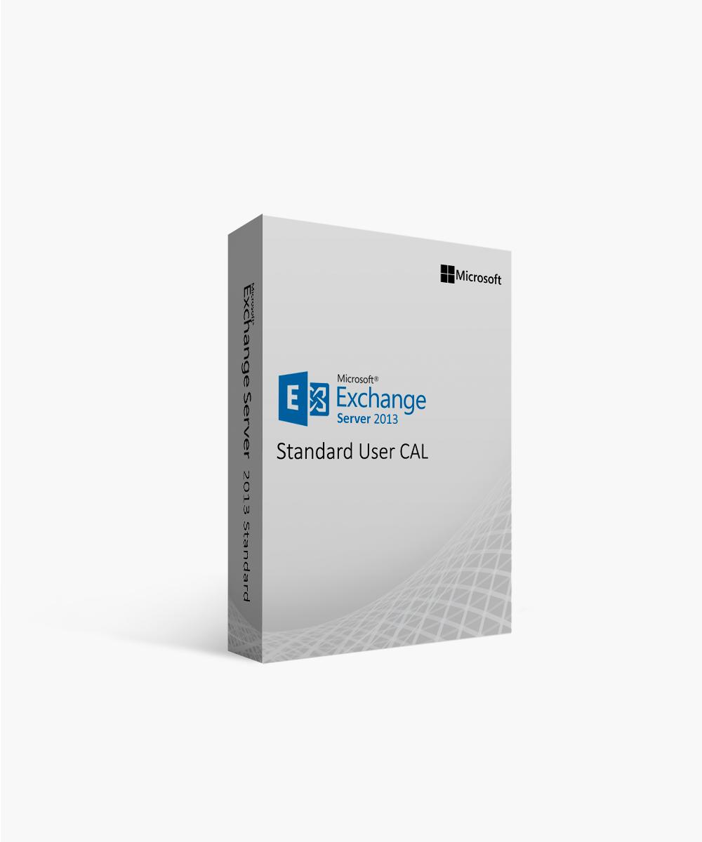 Microsoft Exchange Server 2013 Standard User CAL Open Government