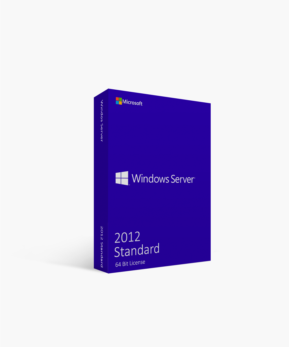 Microsoft Windows Server 2012 Standard 64 Bit License