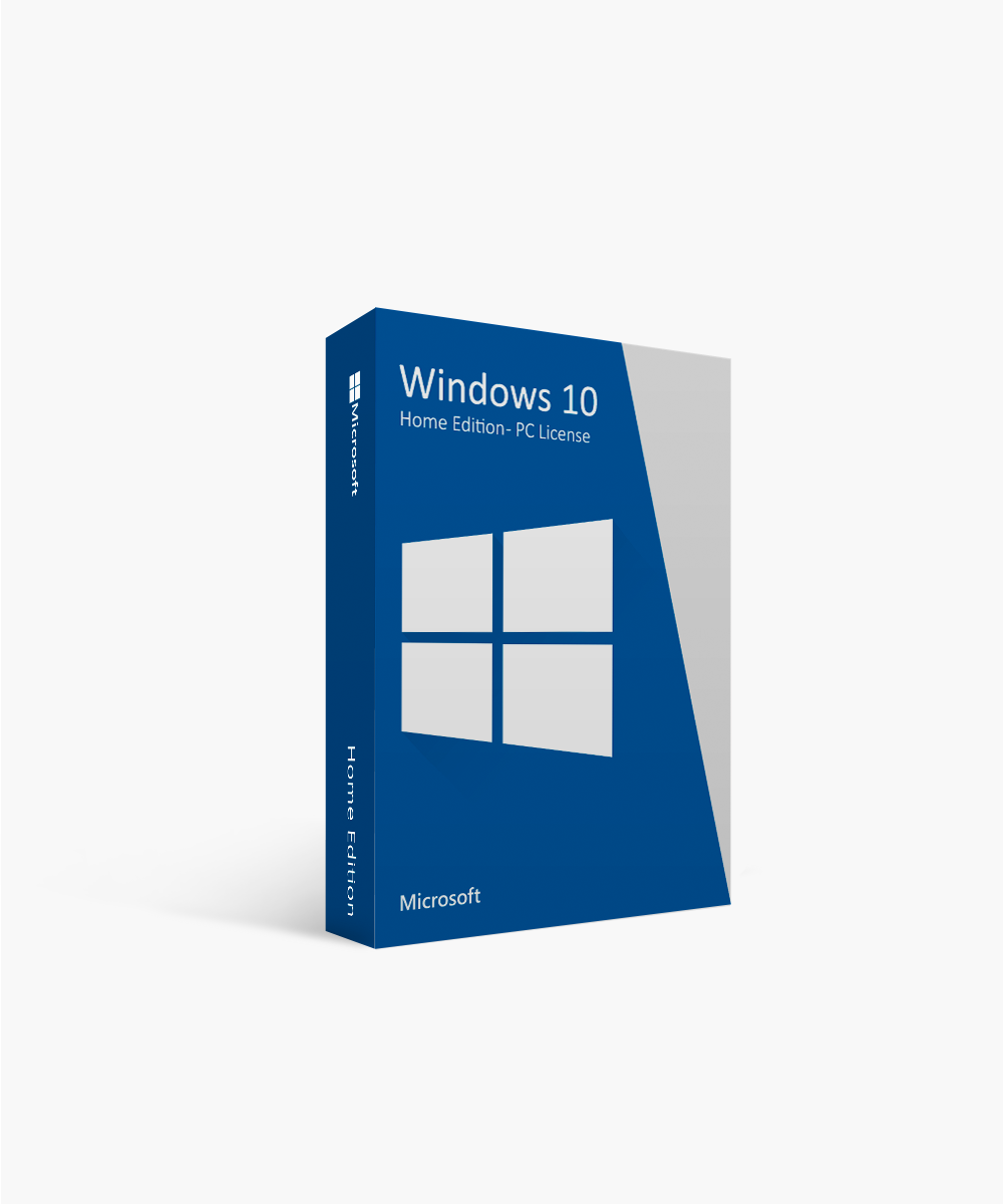 Microsoft Windows 10 Home Edition - Pc License