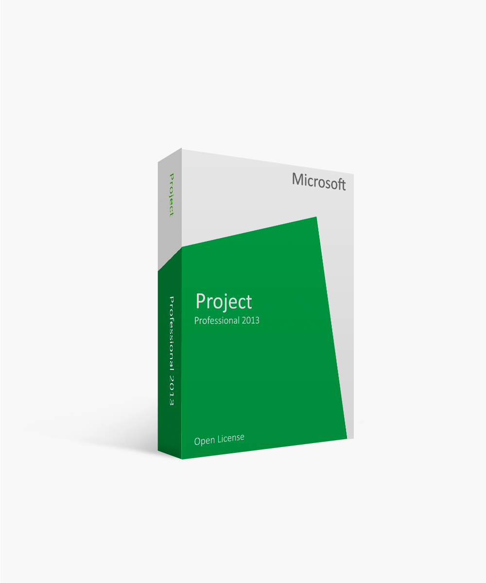 Microsoft Project Professional 2013 Open License