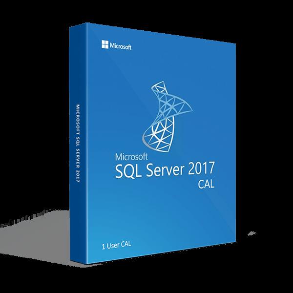 SQL Server 2017 1 User CAL