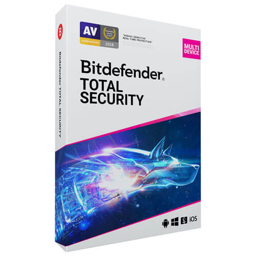 Bitdefender Total Security 2020 5-Device 1 Year