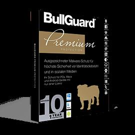 BullGuard Premium Protection 10-Devices 1Yr