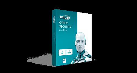 Eset Cyber Security Pro Mac 1-User 1Yr Eng/Fr