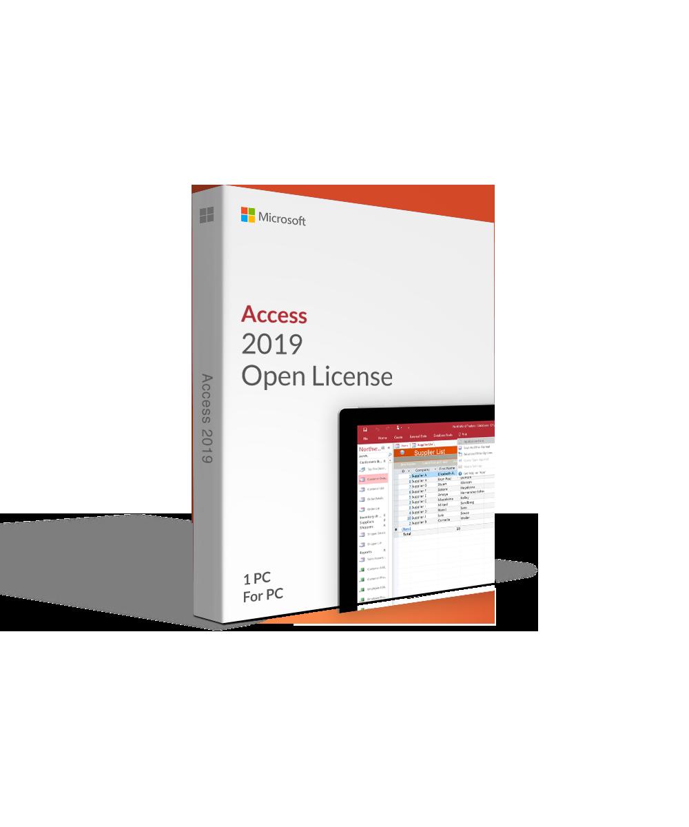 Microsoft Access 2019 Open License