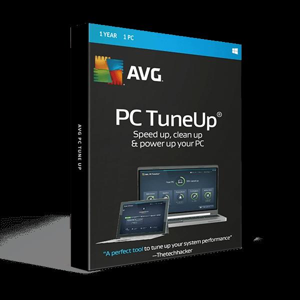 AVG PC Tune up 1 PC 1 Year