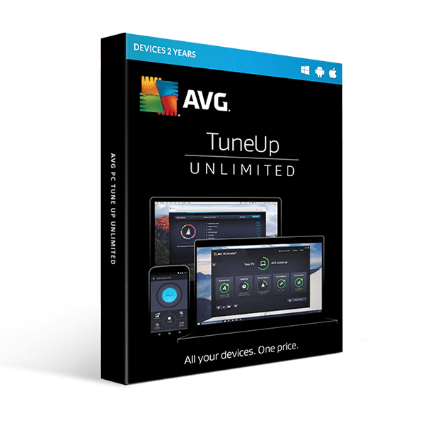 AVG PC Tune up unlimited devices 2 Year