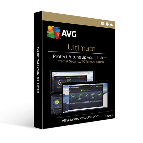 AVG Ultimate 2019 10 devices 2 Year