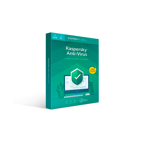 Kaspersky Anti-Virus 2019 - 1-Year / 1-PC Download