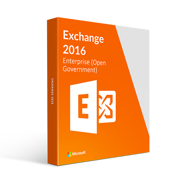 Microsoft Exchange 2016 Standard User CAL - Open Government