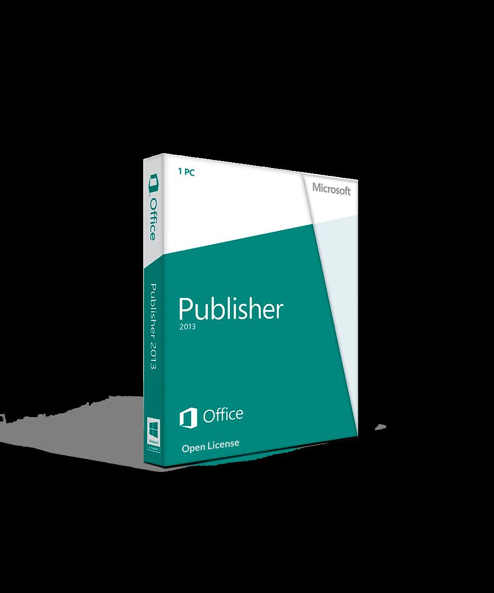 Microsoft Publisher 2013 Open License