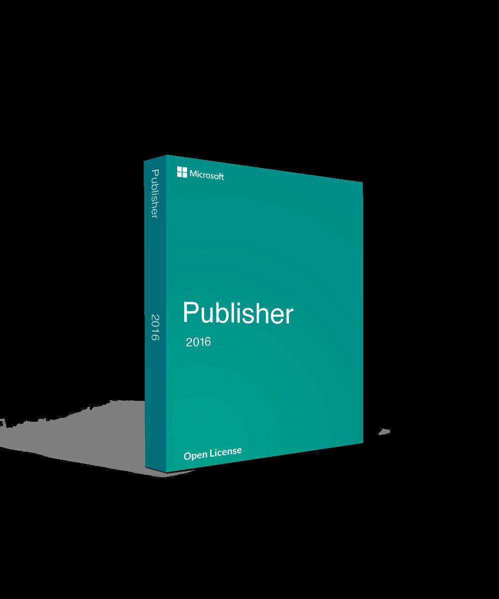 Microsoft Publisher 2016 Open License