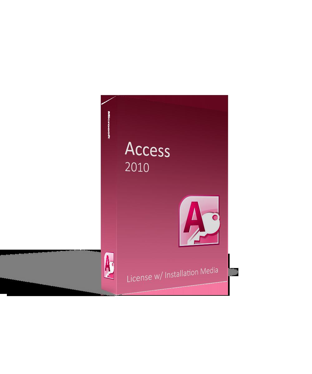 Microsoft Access 2010 License w/ Installation Media
