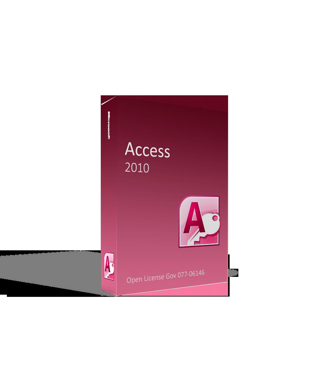 Microsoft Access 2010 Open License Gov 077-06146