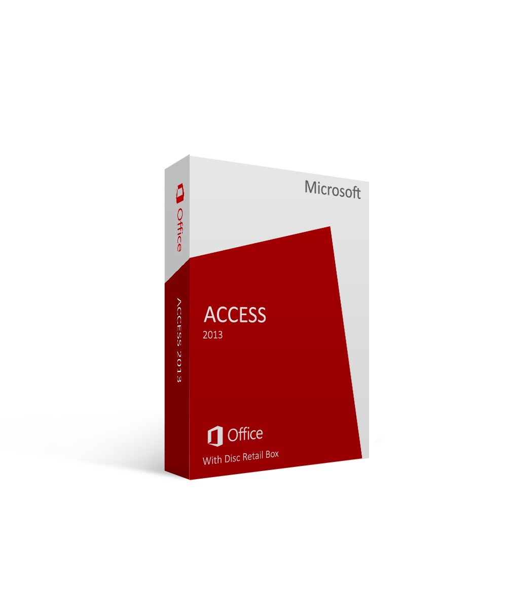Microsoft Access 2013 With Disc Retail Box