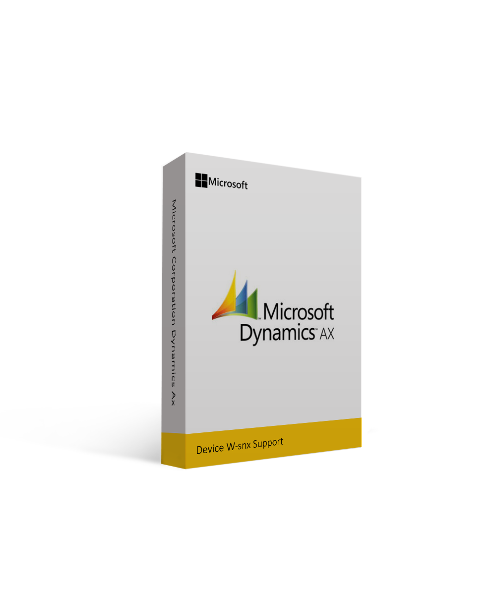 Microsoft Corporation Dynamics Ax Device W-snx Support