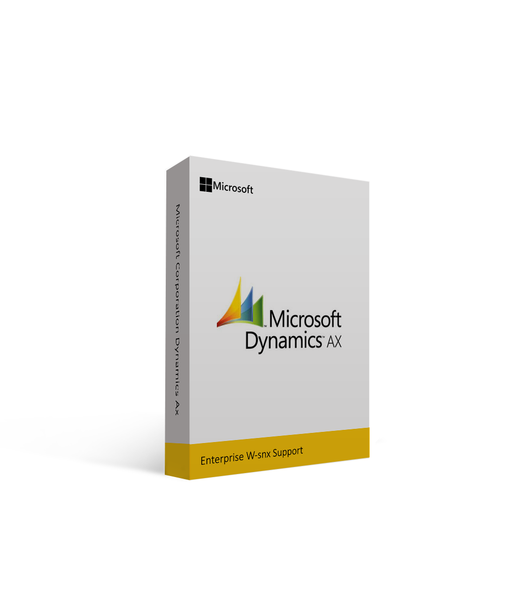 Microsoft Corporation Dynamics Ax Enterprise W-snx Support