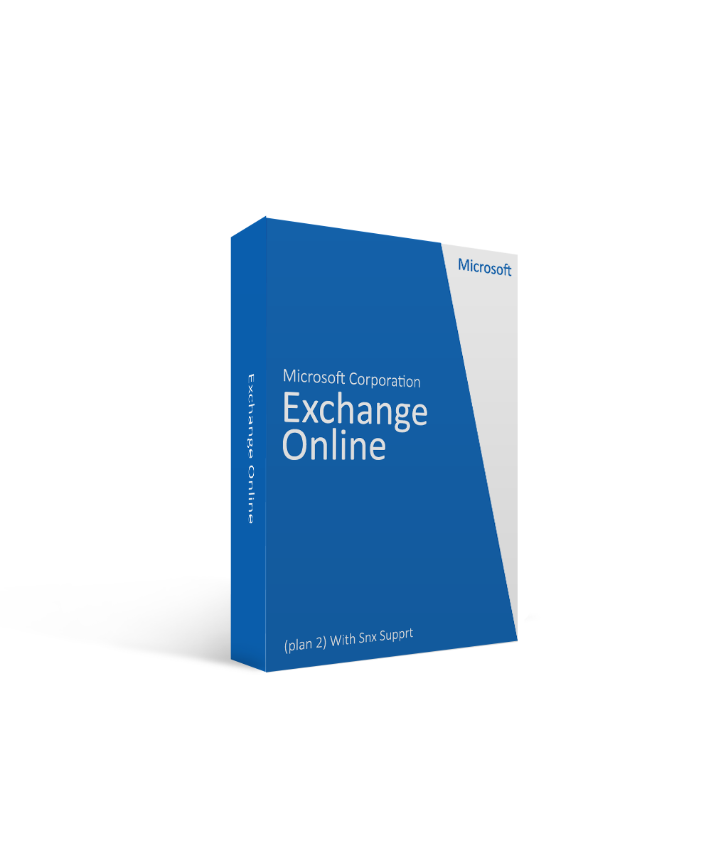 Microsoft Corporation Exchange Online (plan 2) With Snx Supprt
