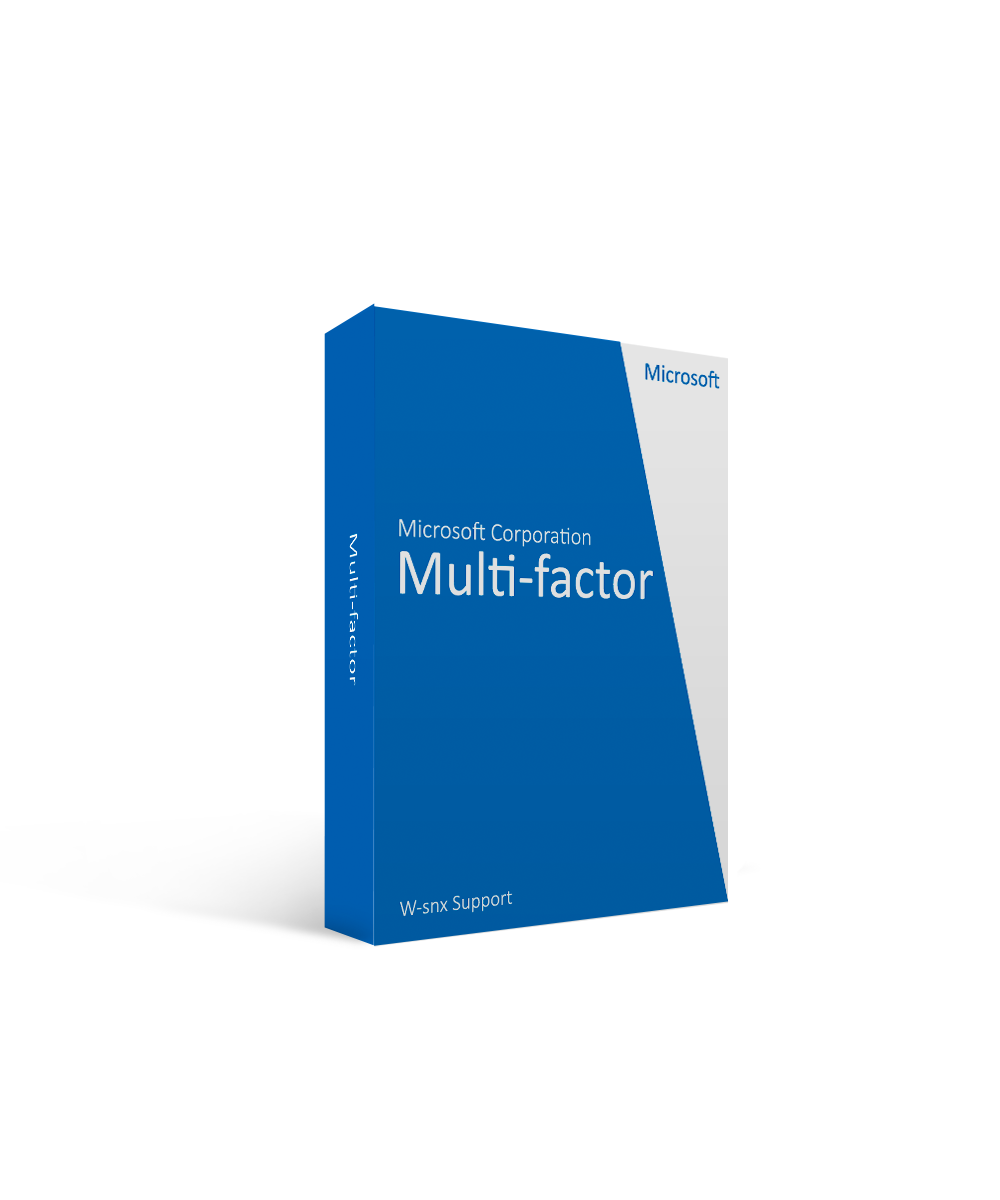Microsoft Corporation Microsoft Multi-factor W-snx Support