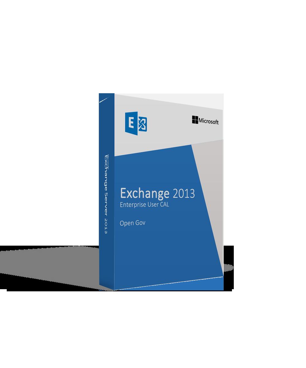 Microsoft Exchange Server 2013 Enterprise User Cal Open Gov