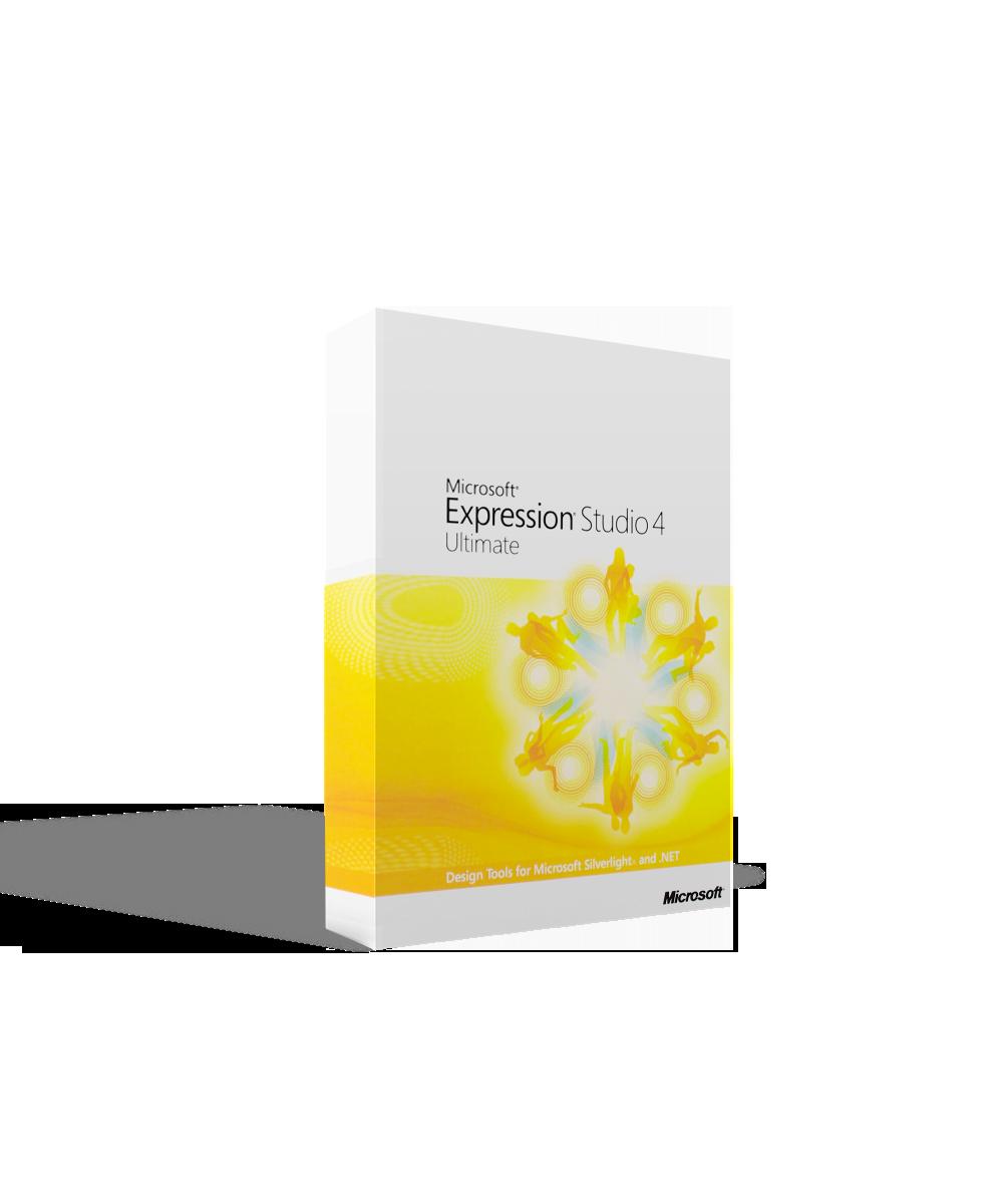 Microsoft Expression Studio 4 Ultimate License & SA Open Gov