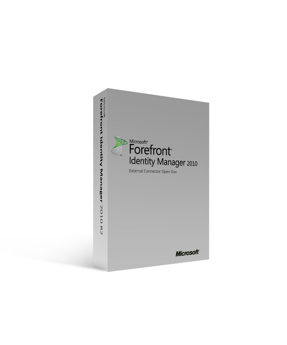 Microsoft Forefront Identity Manager 2010 R2 External Connector Open Gov
