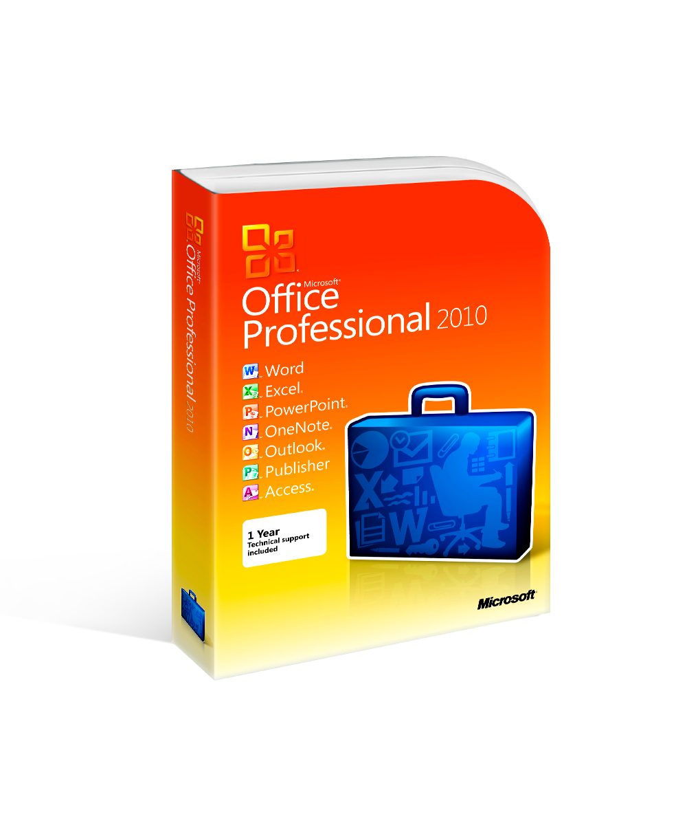 Microsoft Office 2010 Professional Product Keycard License – Instant Download