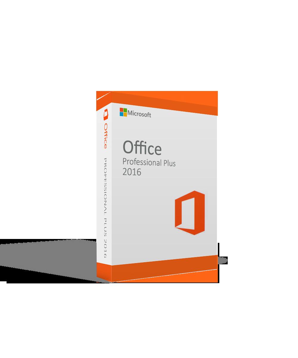 Microsoft Office 2016 Professional Plus International License