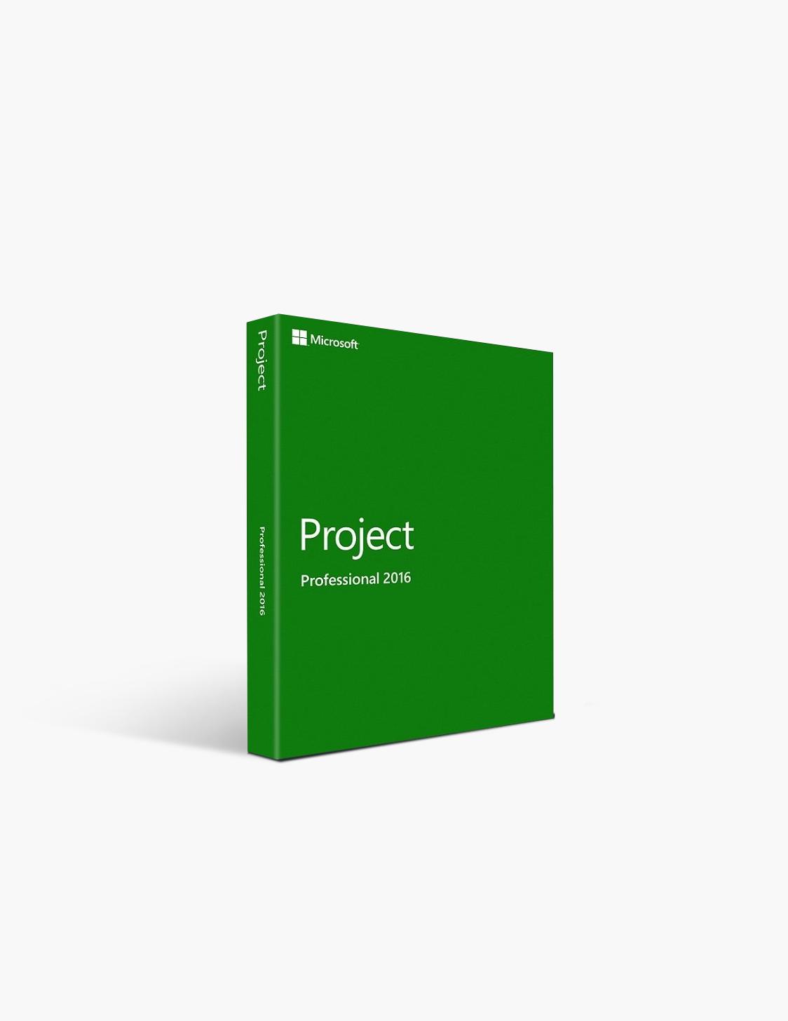 Microsoft Project 2016 Pro Open License