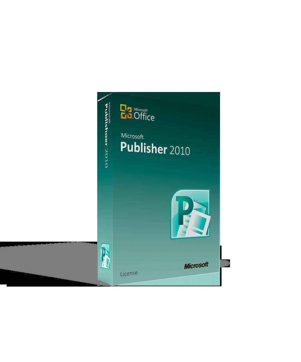 Microsoft Publisher 2010 - License
