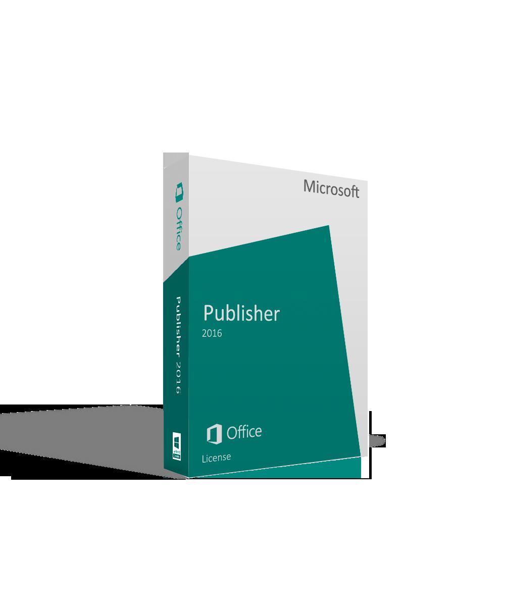 Microsoft Publisher 2016 License