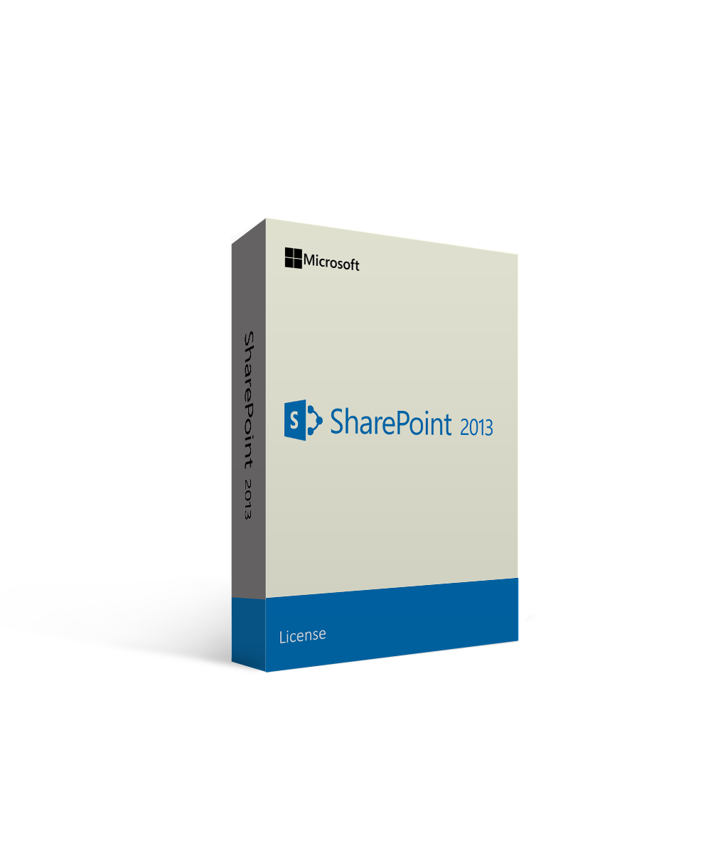 Microsoft SharePoint Server 2013 License