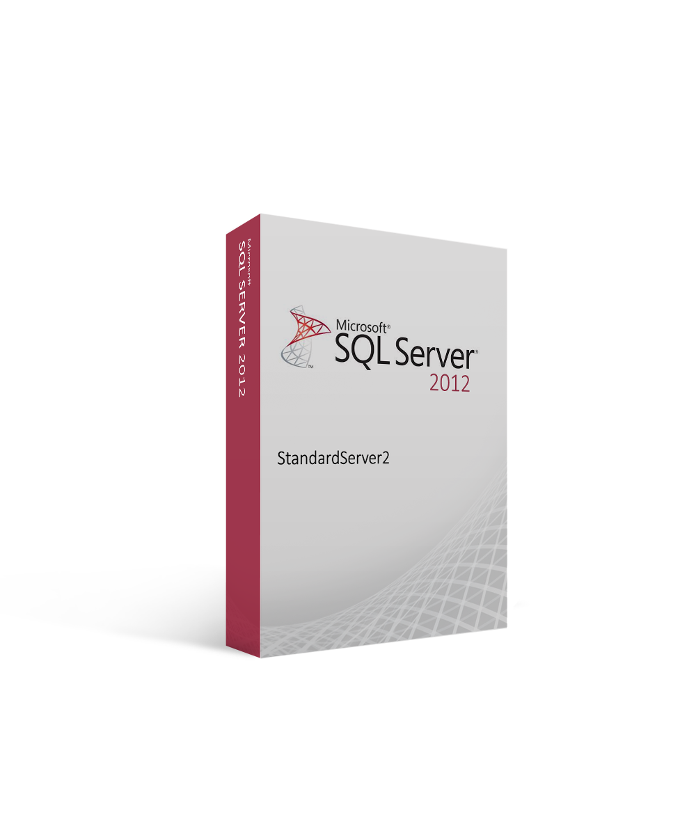 Microsoft SQL Server 2012 Standard – Server License