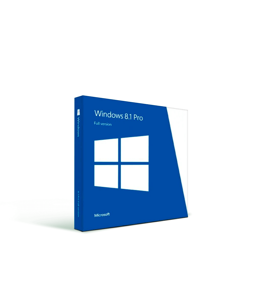 Microsoft Windows 8.1 Pro (Single License)