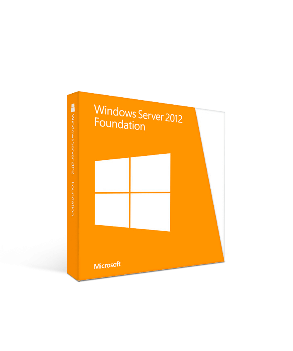 Microsoft Windows Server 2012 Foundation