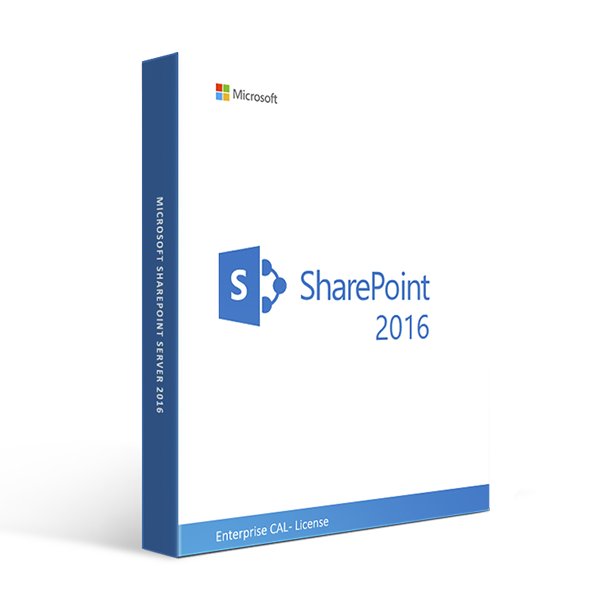 Microsoft SharePoint Server 2016 Enterprise CAL - License