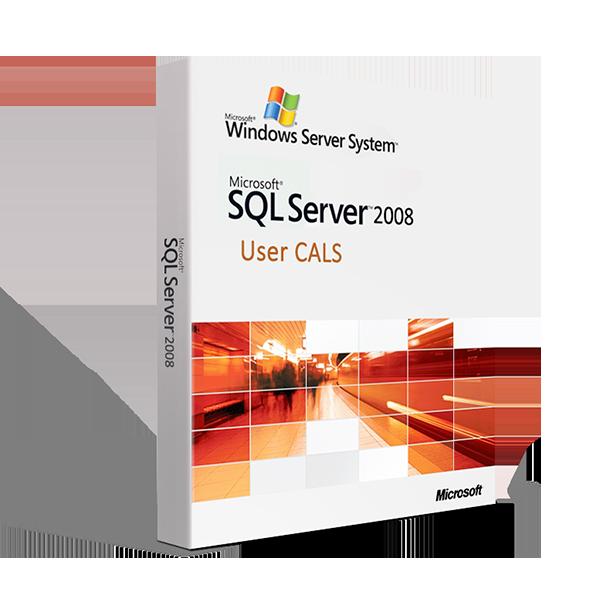 Microsoft SQL Server 2008 R2 - User CAL license