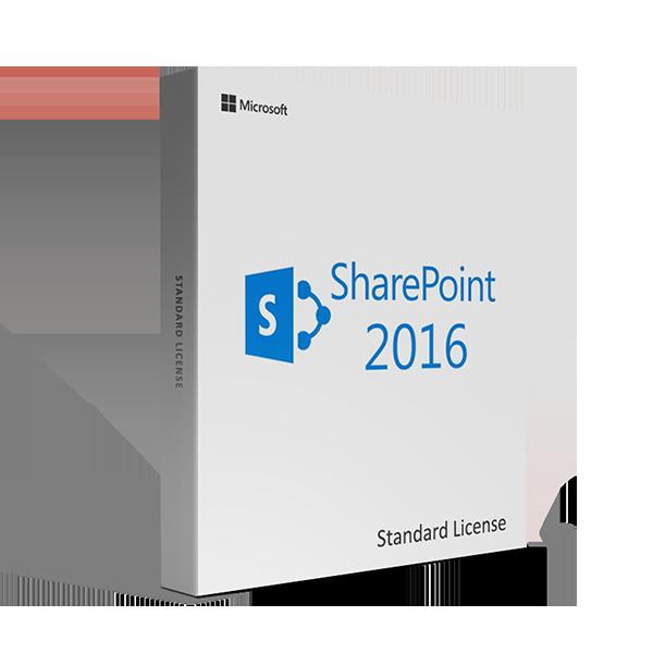 Microsoft SharePoint Server 2016 Standard - License