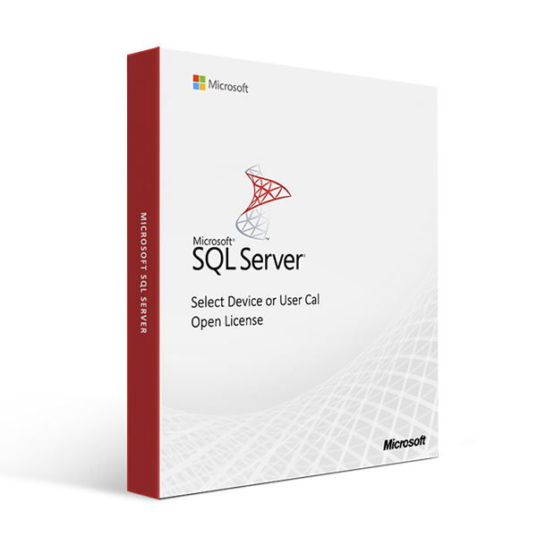 Microsoft SQL Server - Select Device or User Cal - Open License