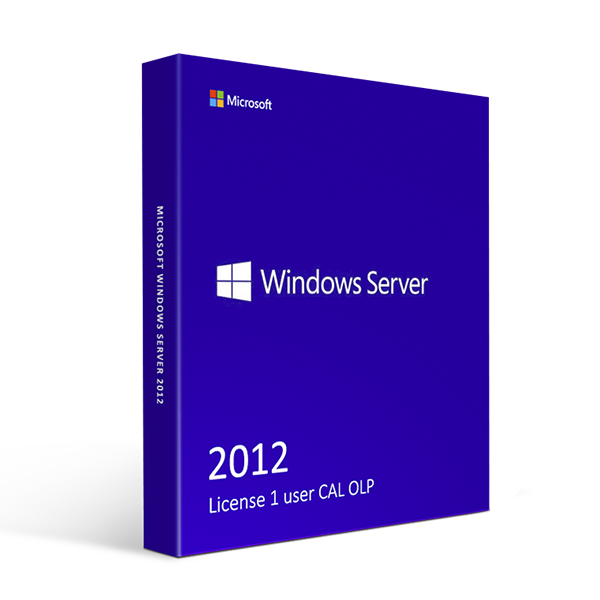Microsoft Windows Server 2012 License 1 user CAL OLP