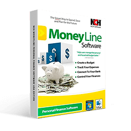 NCH Moneyline Personal Finance Software USA Edition